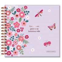 Álbum de fotos G Borboletas lilás