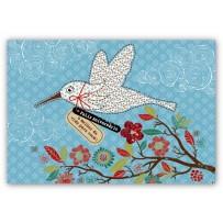 Cartão Mix Pássaro