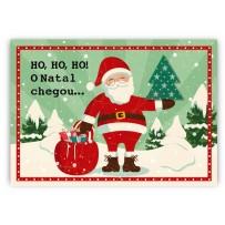 Cartão Mix Natal Papai Noel árvore