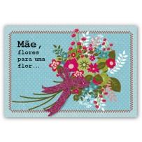 Cartão Mix Mãe Flores