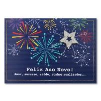 Cartão Mix Natal Fogos