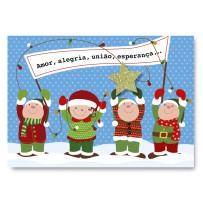 Cartão Mix Natal Duendes  *