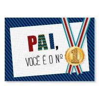 Cartão Mix Pai Medalha número 1