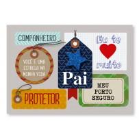Cartão Mix Pai Tag Estrela