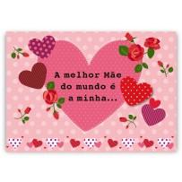 Cartão Mix Mãe Corações