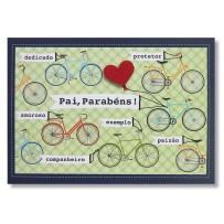 Cartão Mix Pai Bicicletas