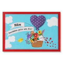 Cartão Mix Mãe Balão Gatinho