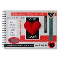 Álbum de recordações Amor nota 10