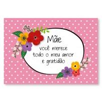 Cartão Mix Mãe Gratidão