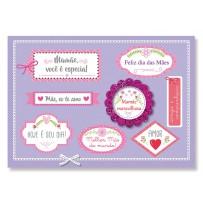 Cartão Mix Mãe Tags