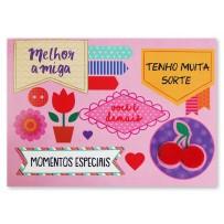 Cartão Mix Amigas cereja