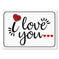 Cartão Mix I love You  *