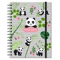 Caderno colegial 96 fls. Panda