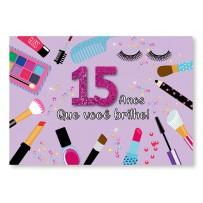 Cartão Mix 15 Anos Glamour