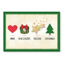 Cartão Mix Natal Estrela cadente