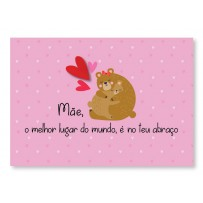 Cartão Mix Mãe Ursa