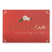 Cartão Essencial Felicidades união