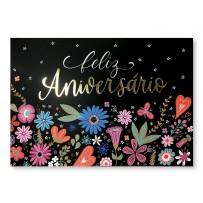 Cartão Essencial Feliz aniversário