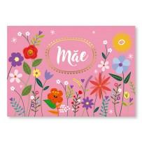 Cartão Essencial Mãe flores