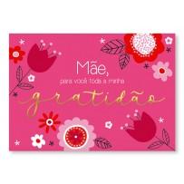 Cartão Essencial Mãe gratidão