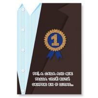 Cartão Artesanal Pai Condecorado